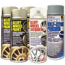 3x Drift Gold E-Tech Alloy Wheel Paint 400ml + Self Etch Primer + Lacquer