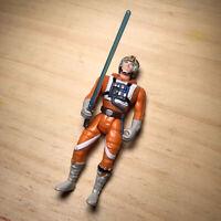 """Star Wars 1995 Luke Skywalker X-Wing Fighter Pilot 3.75"""" Action Figure Hasbro"""