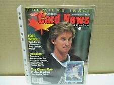 New listing VINTAGE CANADIAN CARD NEWS  PRICE GUIDE - VOLUME # 1 - GRETZKY