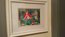Disney Little Mermaid Matted Framed Print
