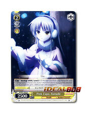 Weiss Schwarz Angel Beats! x 4 Pink Cape, Kanade [AB/W31-E043 C] English
