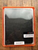 NEW Tech2 D30 iPad 2 3 4 6 Black Leather Folio Case 16GB 32GB 64GB 128GB 9.7''