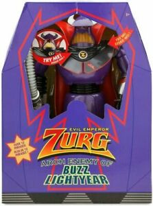 """Disney 12"""" Toy Story Zurg Interactive Talking and Light Up Action Figure Toy"""