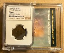 1808 ADMIRAL GARDNER Shipwreck NGC Certified 10 Cash Coin & Story in Clear Box