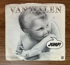 "1983 Van Halen ""Jump/House Of Pain"" 45 RPM 7"" Record"