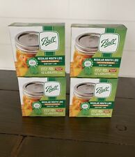 Ball Regular Mouth Canning Lids 4 Boxes Of 12 (48 Lids Total) Factory Ship 5/15