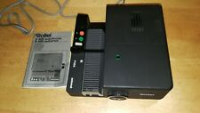 Rollei P355 Automat Remote Focus Slide Projector & Instruction Manual
