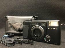 【Excellent+++】 Fujifilm Fuji KLASSE 35mm Film Camera BLACK from Japan #3095