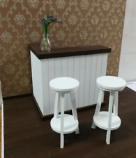 Fashion royalty Barbie 1:6 scale Dolls furniture bar counter (with two chairs)