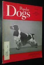 Popular Dogs Illustrated Magazine English Cocker Spaniel Cover Mar. 1966