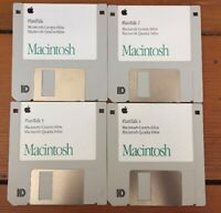 Vintage 1993 Macintosh Centris Quadra PlainTalk Mac Software Install Floppy Disk