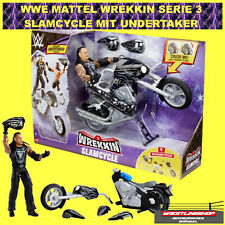 WWE MATTEL ELITE BASIC SLAMCYCLE MIT UNDERTAKER WREKKIN SERIE 3 - SLAM CYCLE NXT