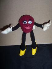 California Raisin Plush Stuffed Female Figure