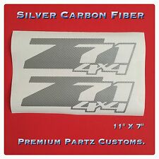 Z71 Off Road Decals 2PC Set Body Window Sticker Vinyl For Silverado Tahoe GM 4X4
