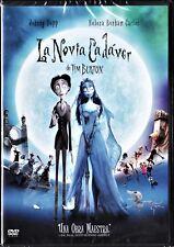 Tim Burton: LA NOVIA CADÁVER. Tarifa plana envío DVD España, 5 €