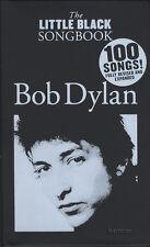 Bob DYLAN IL Little Black Songbook edizione riveduta chitarra Chord Book 100 CANZONI