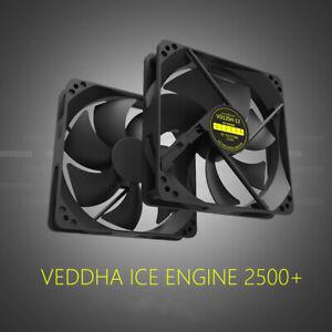 VEDDHA VD12SH 2800rpm 120x120x25mm Cooler PC Brushless DC Cooling Case Fan Lot
