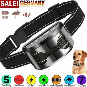 Anti-Bell Wiederaufladbares Hundetraining Halsband-Set Elektroschock Anti-Bark