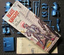 1957 BLUE KNIGHT OF MILAN Aurora Model Kit 472-98 w/ Box & Instructions