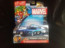 2012 Marvel Die Cast Power Racer Mr Fantastic 63 Chevy Corvette  New in Package