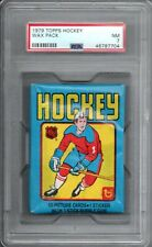 1979-80 Topps Hockey Wax Pack PSA 7 EXMT Possible Wayne Gretzky RC Card