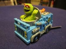 Ertl Collectibles Sesame Street Oscar The Grouch Garbage Truck Car w/Slimey RARE