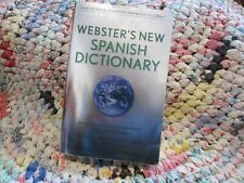 WEBSTER'S NEW SPANISH DICTIONARY 2003 PAPERBACK BOOK