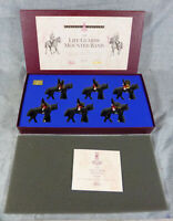 Vintage W. Britain's Limited Edition Life Guards Mounted Band Set 2 MIB #5295