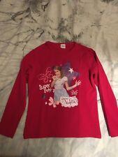 Maglietta rossa Violetta Disney