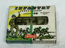 1960s AIRFIX H0 & 00 Scale WWII American / British Infantry Soldiers Figures