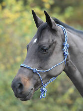 Shires Adjustable Rope Halter Lightweight and Simple to Fit