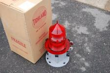 TIDELAND MARINE BUOY LATERN ML-155 RED FRESNEL LENS NEW