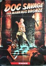 Doc Savage: The Man of Bronze German video Movie Poster A1 Mann aus Bronze Ely