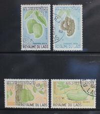 Laos 1968. Fruits. Used Set. SG 248-251