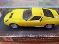 Lamborghini Miura P400 1966  - Dominique Chapatte - Scala 1:43 Die Cast - Atlas