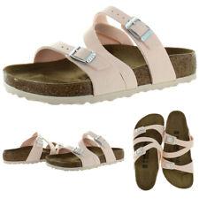 Birkenstock Women's Salina Birkibuc Strappy Slide Sandals