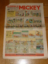 LE JOURNAL DE MICKEY French Comic - No 258 - Date 24/09/1939 French Paper Comic