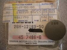 NOS Yamaha OEM Valve Adjusting Pad 2.80 83-05 FJ TT SRX VMX XJ XT 26H-12169-50
