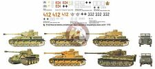 Peddinghaus 1/72 German Tank & Vehicle Markings Gothic Line Italy & France 2322
