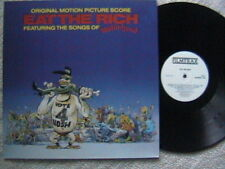 "MOTORHEAD ""EAT THE RICH"" LP SOUNDTRACK BILL LASWELL SIMON BRINT BILL LASWELL LP"
