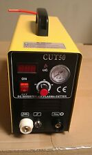 CAL Electric Plasma Cutter 50AMP CUT50 Inverter 220V & 35 Nickel Plated Consuma