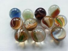 Vintage glass marbles - small lot x 11 - Selection 2