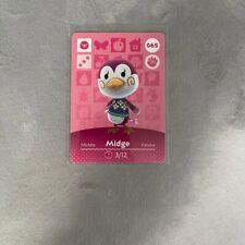 Midge #065 Animal Crossing Amiibo Card Nintendo Authentic Mint Series 1