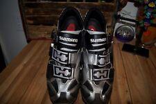 SHIMANO SHOES 48 EUR Mountain Road Bike Shoes Cleats EU 48, US 12.3 MTB Touring