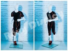 Egghead Child Mannequin Running pose Display Dress form #Rgt01-Mz