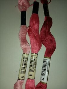 2 X Anchor Threads, 6 stranded cotton lot 6