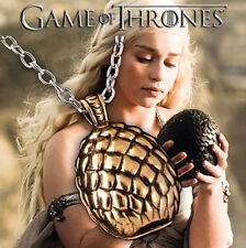 Halskette mit Anhänger Ei, GAME OF THRONES, Targaryen Drachenei  pendant