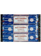 Nag Champa Incense Sticks 100 g x 3, 300 Grams Satya Sai Baba Original Wholesale