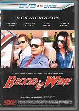 DVD ZONE 2--BLOOD & WINE--NICHOLSON/DORFF/LOPEZ/DAVIS/CAINE