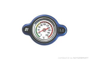 MX-5 Kühlerdeckel blau mit Temperatur Anzeige 1,1 bar Mazda® MX-5 NA, NB, 89-05